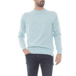 NWT Scotch & Soda Sky Blue Wool Nepped Sweater M